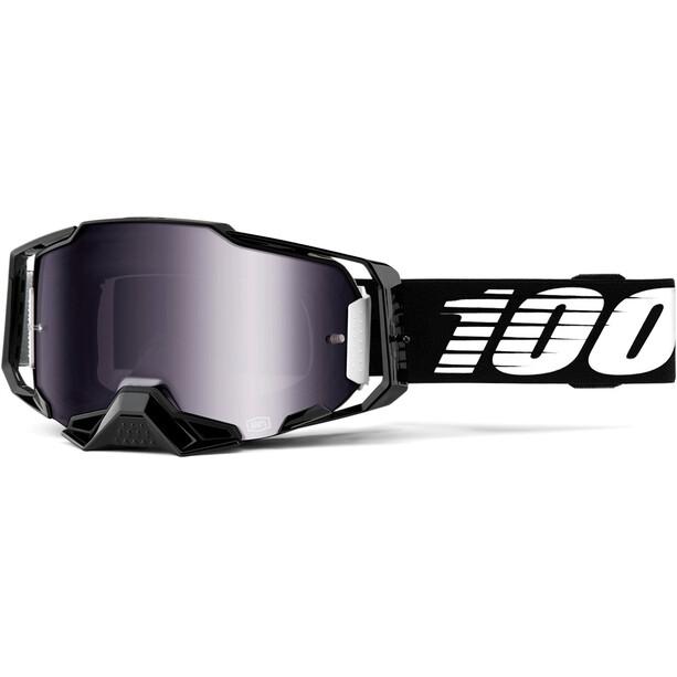 100% Armega Anti-Fog Goggles black/mirror