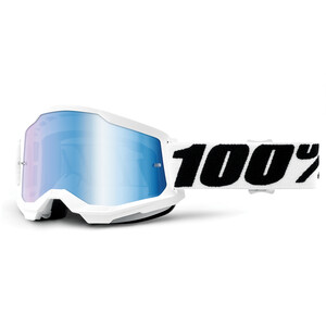 100% Strata Anti-Fog Goggles Gen2 weiß weiß