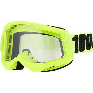 100% Strata Anti-Fog Goggles Gen2, jaune jaune