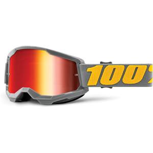 100% Strata Anti-Fog Goggles Gen2 grau grau