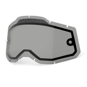 100% Vented Dual Replacement Lenses Gen2, transparent/blanc transparent/blanc