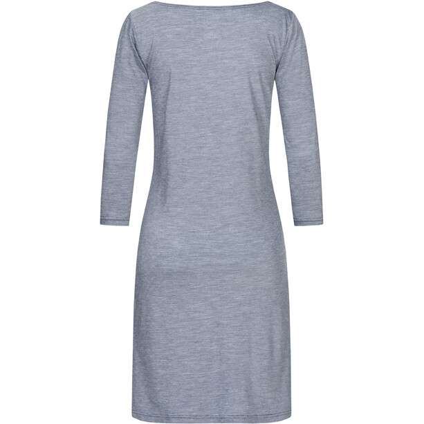 super.natural Barb Dress Women blue iris melange
