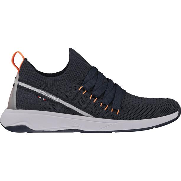 Viking Footwear Engvik Schuhe Kinder blau/orange