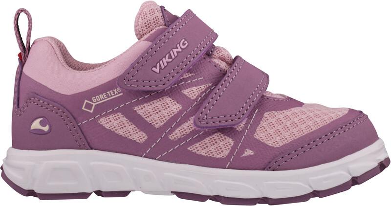 Viking Footwear Veme Vel GTX sko Barn lilla/Rosa EU 26 2021 Hverdagssko