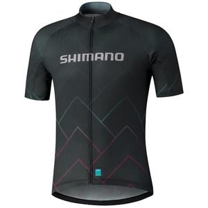Shimano Team Trikot Herren schwarz schwarz