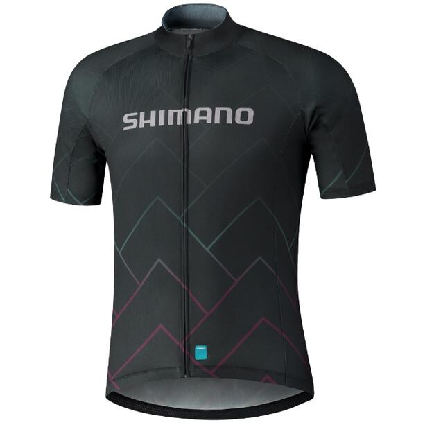 Shimano Team Trikot Herren black