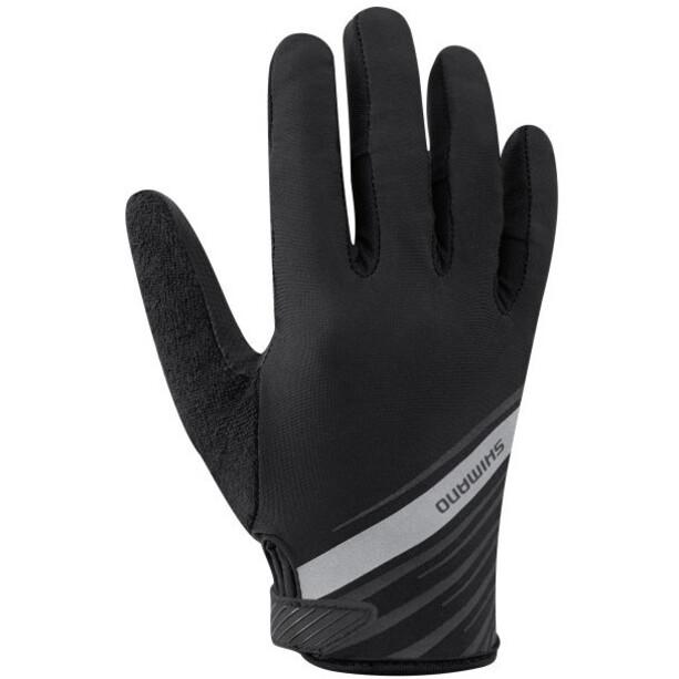 Shimano Long Gloves Women, noir