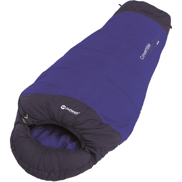 Outwell Convertible Sleeping Bag Kids blå