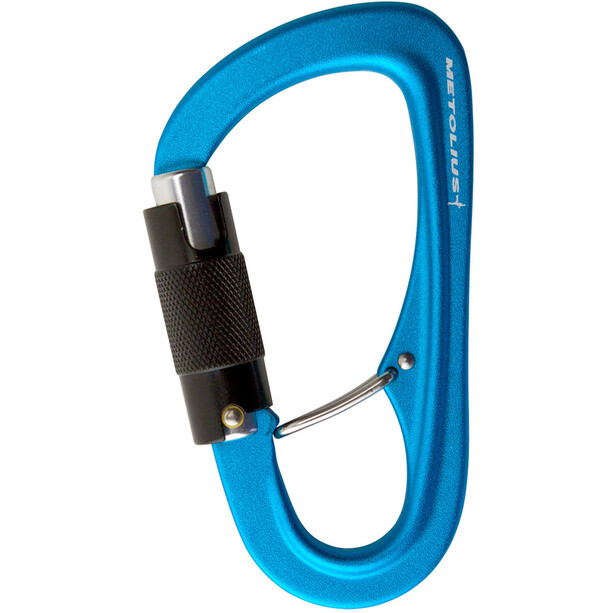 Metolius Gatekeeper Auto Lock Karabiner blau