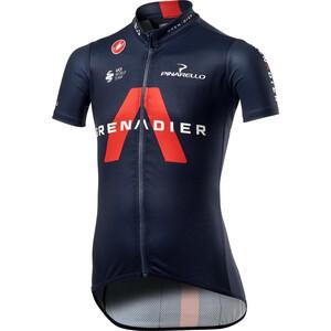 Castelli Team Ineos Grenadier Cykeltröja Barn blå blå