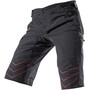 Zimtstern Bulletz Shorts Herren pirate black/jester red