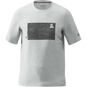 Zimtstern Shiningz T-Shirt Herren grau grau
