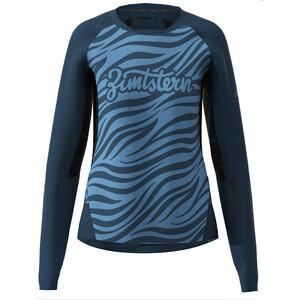 Zimtstern TechZonez LS Shirt Women, bleu bleu