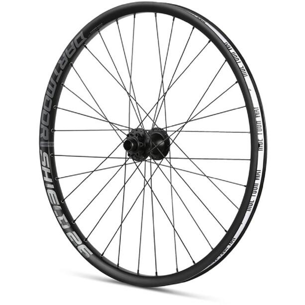 """DARTMOOR Shield Front Wheel 26"""" 100x15/110x20mm, noir"""