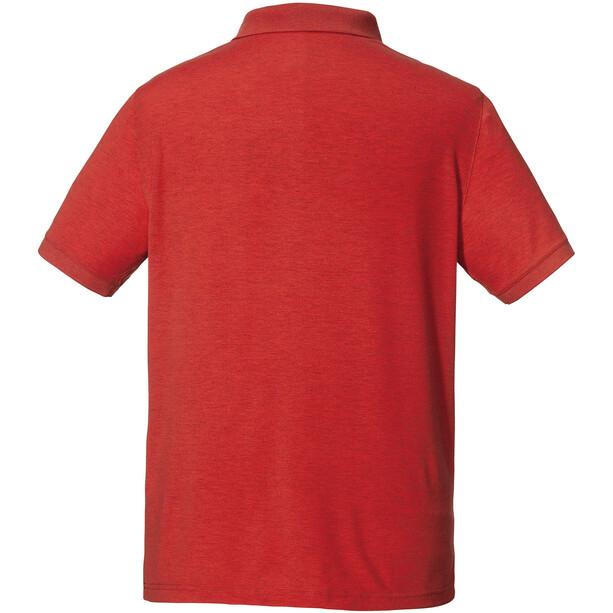 Schöffel Brisbane Poloshirt Herren rot