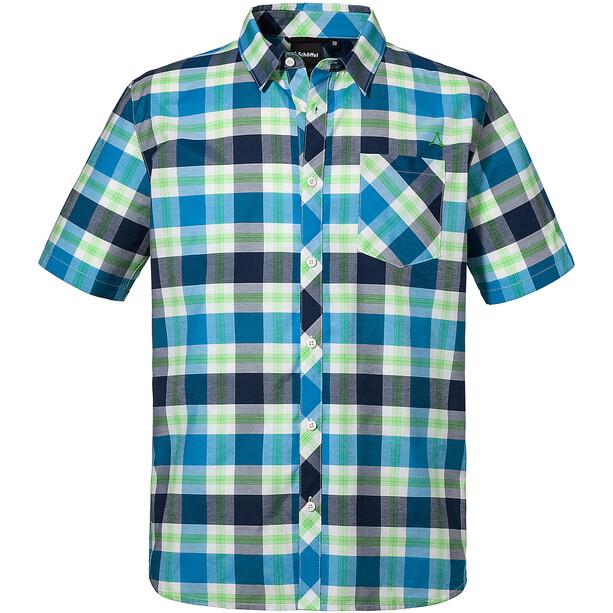Schöffel Calanche Hemd Herren blau/grün