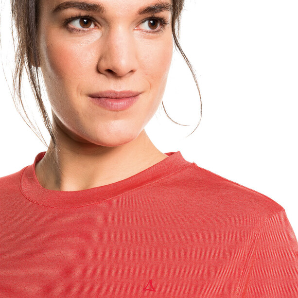 Schöffel Hochwanner T-Shirt Damen rot