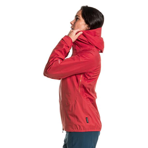 Schöffel Rothorn 3L Jacke Damen rot