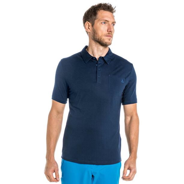 Schöffel Scheinberg Poloshirt Herren blau