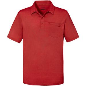 Schöffel Scheinberg Poloshirt Herren rot rot