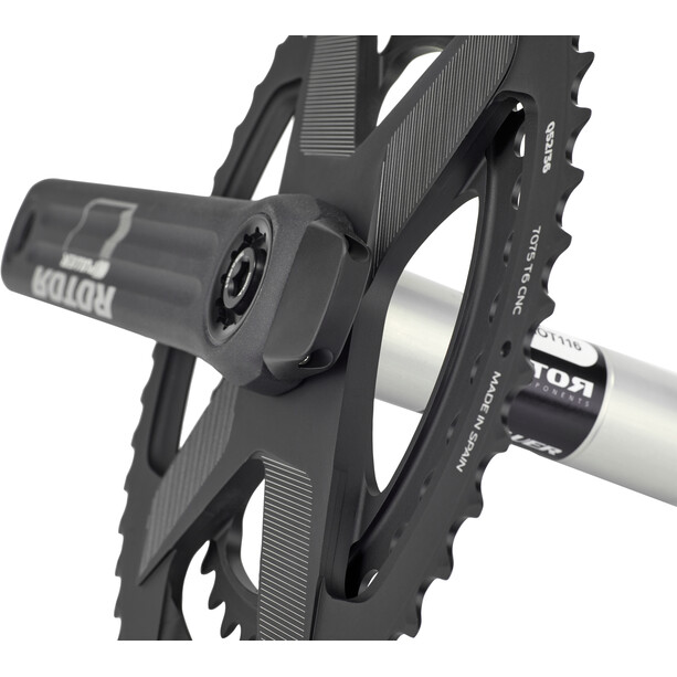 Rotor INpower Powermeter Kurbelset Oval Direct Mount 50/34Z
