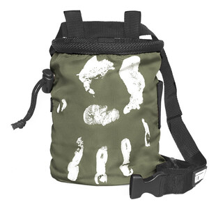 LACD Hand of Fate Chalk Bag with Belt charcoal charcoal