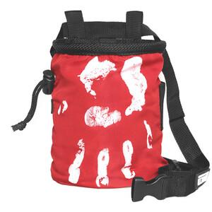 LACD Hand of Fate Chalk Bag with Belt, czerwony czerwony