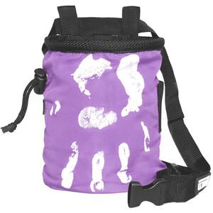 LACD Hand of Fate Chalk Bag with Belt dark purple dark purple