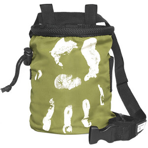 LACD Hand of Fate Chalk Bag with Belt, verde verde