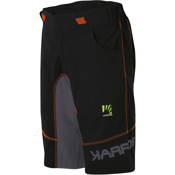 Karpos Ballistic Evo Short Homme, gris/orange