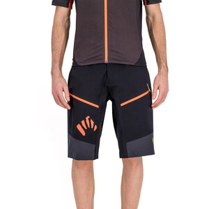 Karpos Rapid Baggy Shorts Herren black/dark grey/tangerine tang black/dark grey/tangerine tang