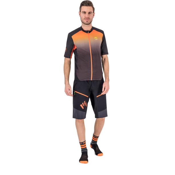 Karpos Rapid Short ample Homme, gris/orange