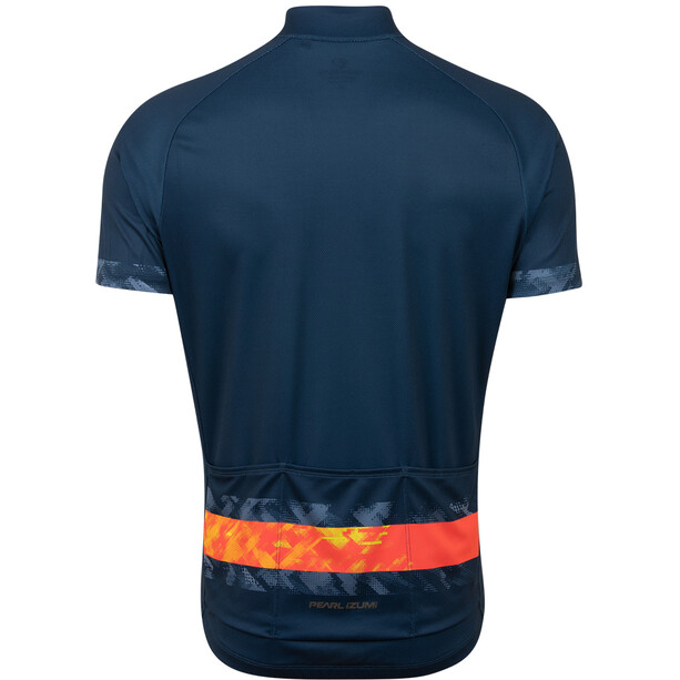 PEARL iZUMi Classic Jersey Men, navy/screaming red disrupt