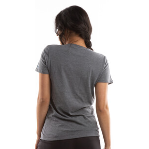 PEARL iZUMi Graphic Kurzarm T-Shirt Damen blue heather ash mountains blue heather ash mountains