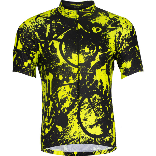 PEARL iZUMi Selected LTD Trikot Herren grafity road screaming yellow