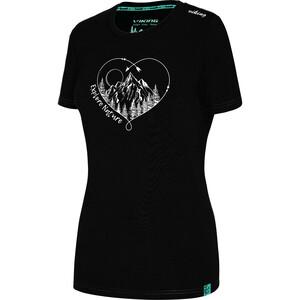 Viking Europe Bamboo Light T-Shirt Women, negro negro