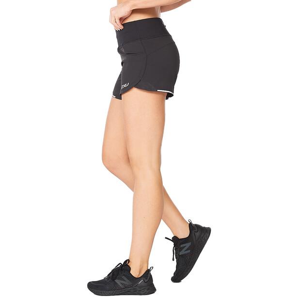"""2XU Aero 4"""" Shorts Women, noir"""