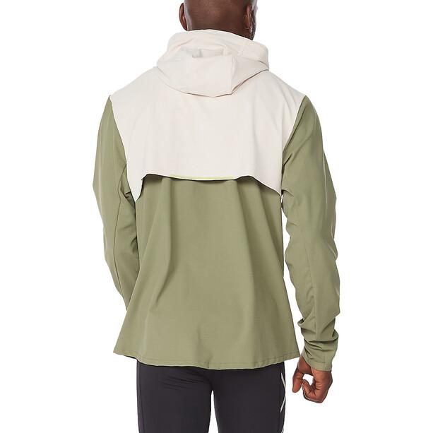 2XU Aero Jacket Men, alpine/kiwi reflective