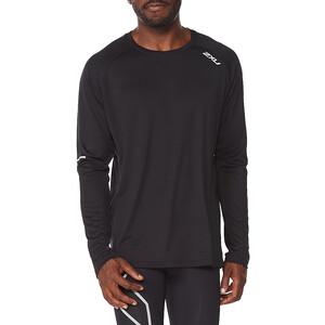 2XU Aero LS-skjorte Herrer, sort sort