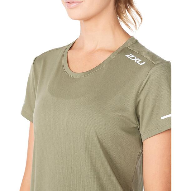 2XU Aero Ärmelloses Shirt Damen alpine/silver reflective