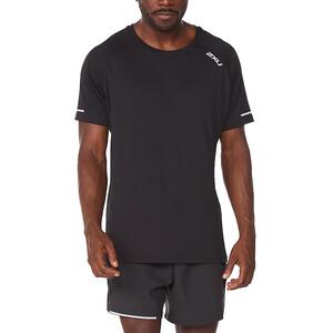 2XU Aero SS Shirt Men, musta musta