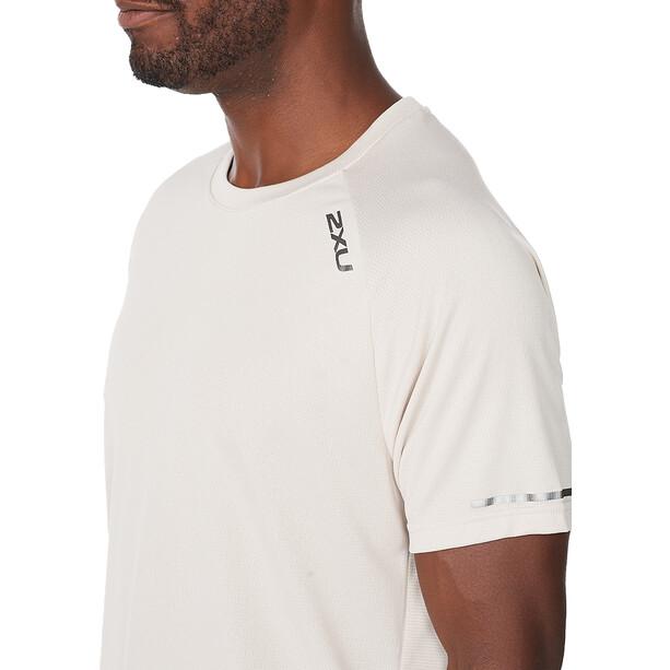 2XU Aero SS Shirt Men, blanc