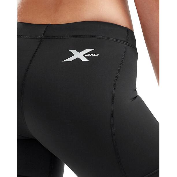 "2XU Core Compression 5"" Game Day Shorts Damen black/silver"