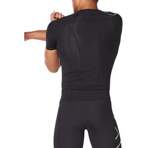 2XU Core Compression SS Shirt Men, czarny czarny