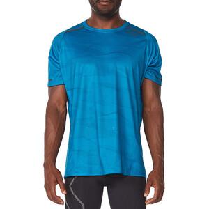 2XU Light Speed Kurzarmshirt Herren blau blau