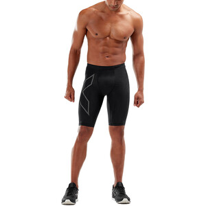 2XU Light Speed Compression Shorts Herren black/ black reflective black/ black reflective