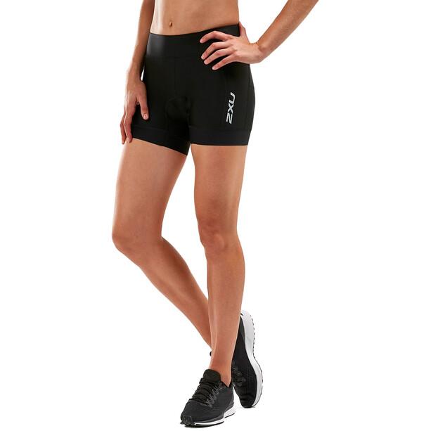 "2XU Perform 4.5"" Tri Shorts Women, black/black"