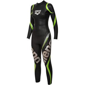 arena Carbon Tri Wetsuit Damen black black