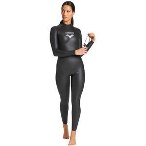 arena Carbon Tri Wetsuit Damen black/silver black/silver