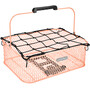 Electra Honeycomb Low Profile Korb MIK mit Transportnetz blush pink